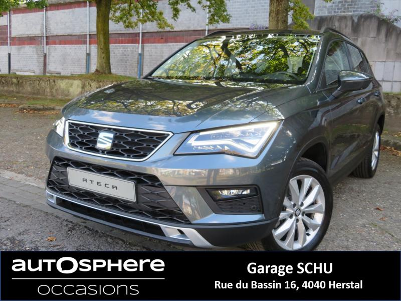 seat ateca style occasion suv manual6 10 000 km herstal 4040. Black Bedroom Furniture Sets. Home Design Ideas